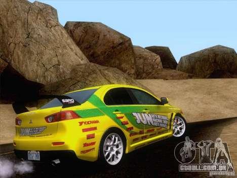 Downhill Drift para GTA San Andreas quinto tela
