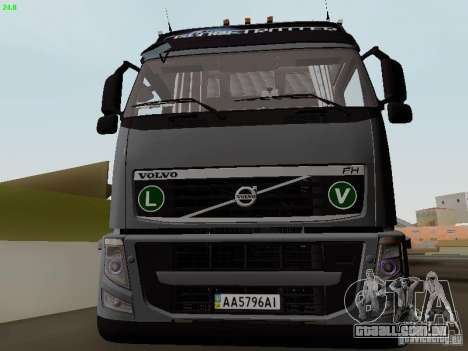 Volvo FH13 Globetrotter para GTA San Andreas