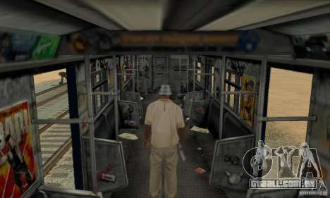 GTA IV Enterable Train para vista lateral GTA San Andreas