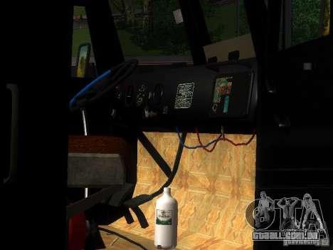 KrAZ-254 para GTA San Andreas vista superior