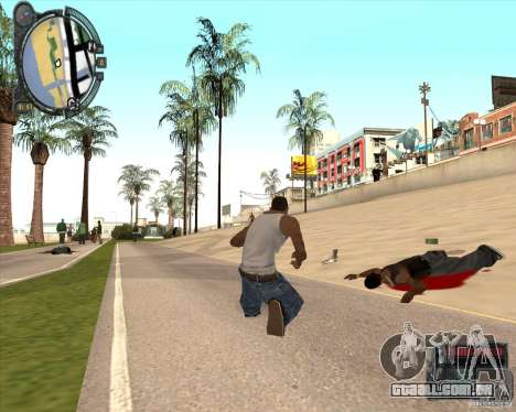 Real Weapons Drop Mod beta para GTA San Andreas terceira tela