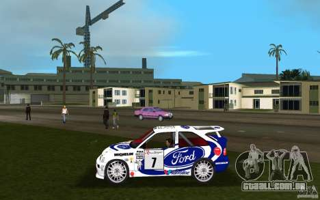 Ford Escort Cosworth RS para GTA Vice City deixou vista