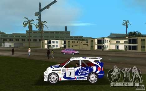 Ford Escort Cosworth RS para GTA Vice City deixou vista