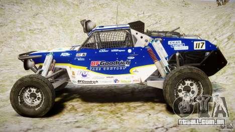 Jimco Buggy para GTA 4 vista interior