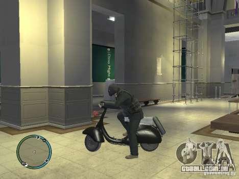 Vyatka motoneta para GTA 4 esquerda vista