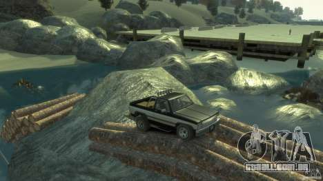 4x4 Trail Fun Land para GTA 4 quinto tela