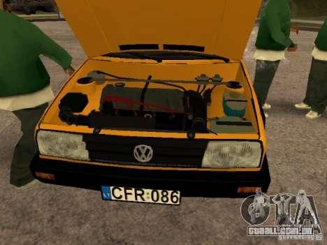Volkswagen Jetta para GTA San Andreas vista direita