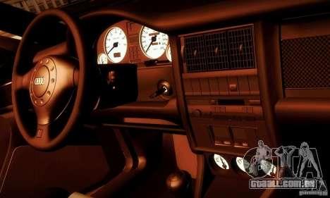 Audi RS2 Avant Thug para vista lateral GTA San Andreas
