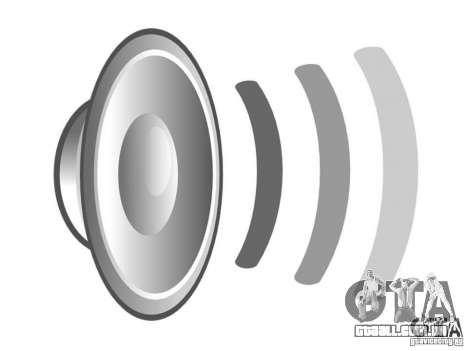 Novos sons para GTA San Andreas