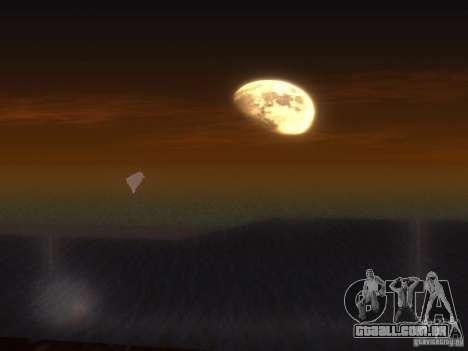 Água de HQ para GTA San Andreas quinto tela