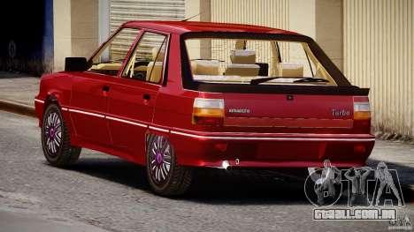 Renault Flash Turbo 11 para GTA 4 vista lateral