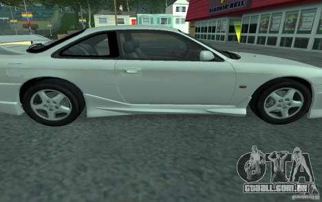 Nissan 200SX para GTA San Andreas vista interior