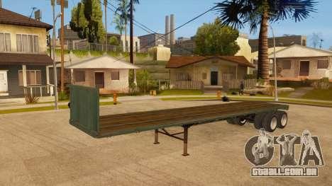 Rede de arrasto para GTA San Andreas vista traseira