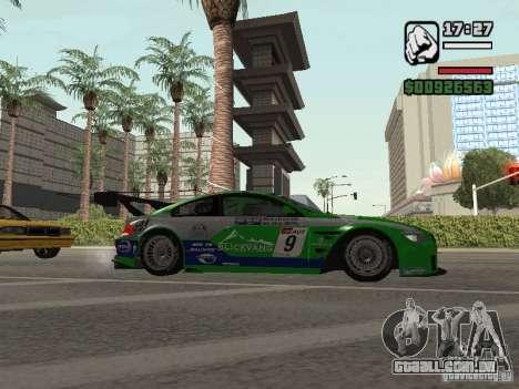 Alpina B6 GT3 para GTA San Andreas vista direita