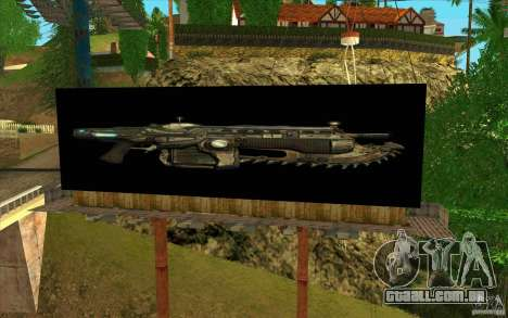 Outdoors em GEARS OF WAR para GTA San Andreas terceira tela