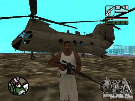 CH-46 SeaKnight para GTA San Andreas