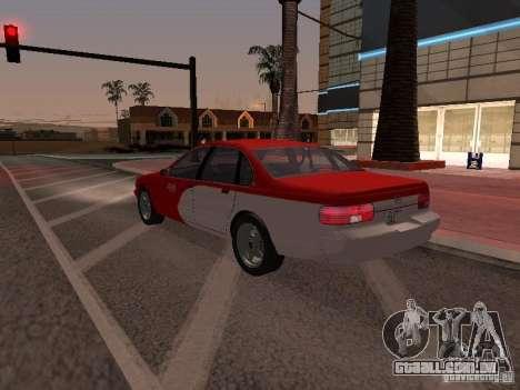 Chevrolet Impala SS 1995 para GTA San Andreas vista inferior