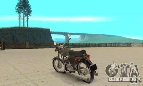 Jawa 350 634V5 atualização para GTA San Andreas