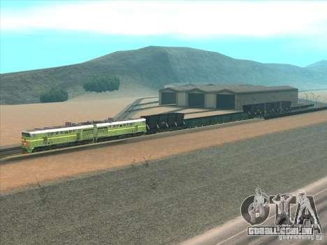 2te10u-0238 para GTA San Andreas traseira esquerda vista