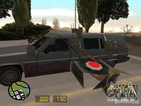 Parecido com o Counter-Strike para GTA San Andre para GTA San Andreas terceira tela