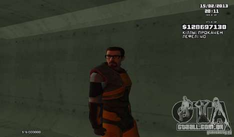 Gordon Freeman para GTA San Andreas