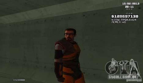 Gordon Freeman para GTA San Andreas
