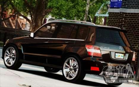 Mercedes-Benz GLK 320 CDI para GTA 4 vista de volta