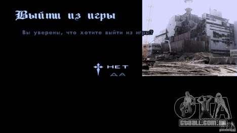 Telas de carregamento Chernobyl para GTA San Andreas terceira tela