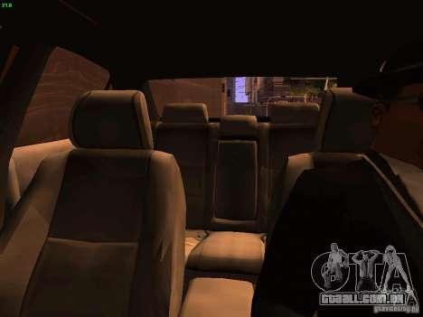 Lexus IS300 Taxi para GTA San Andreas vista superior