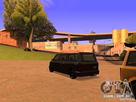 Moonbeam NN para GTA San Andreas esquerda vista