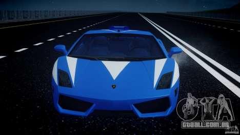 Lamborghini Gallardo LP560-4 Polizia para GTA 4 motor