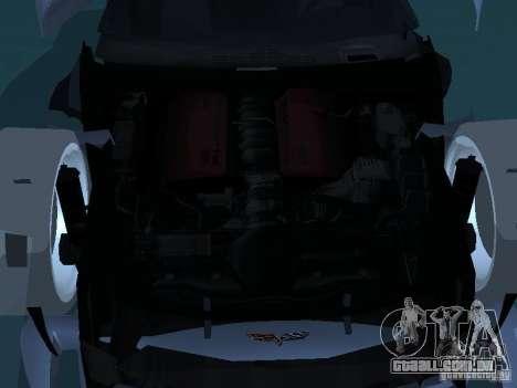 Chevrolet Corvette Stingray para GTA San Andreas vista superior