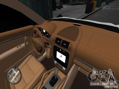Porsche Cayenne Turbo 2003 v.2.0 para GTA 4 vista de volta