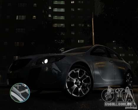 Vauxhall Insignia v1.0 para GTA 4 vista direita