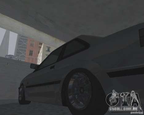 Futo de GTA 4 para GTA San Andreas traseira esquerda vista