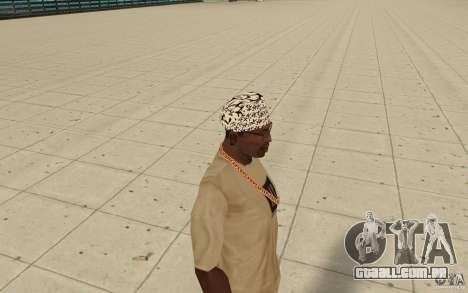 Letras de kitay bandana para GTA San Andreas segunda tela