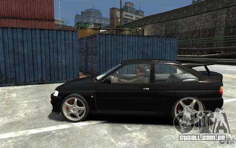 Ford Escort Cosworth para GTA 4 esquerda vista