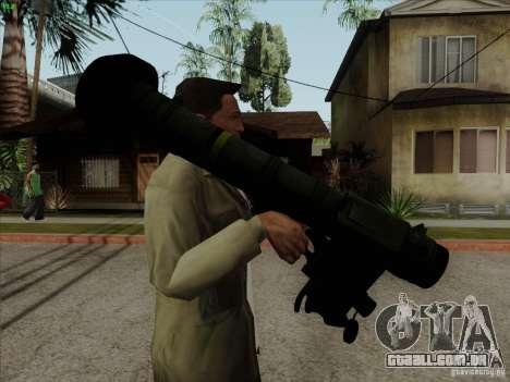 Javelin para GTA San Andreas segunda tela