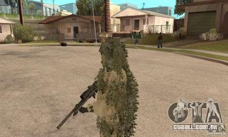 Atirador de pele para GTA San Andreas terceira tela