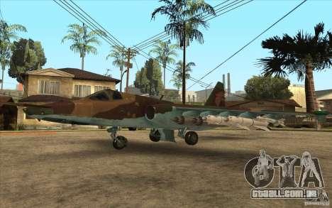 O Su-25 para GTA San Andreas