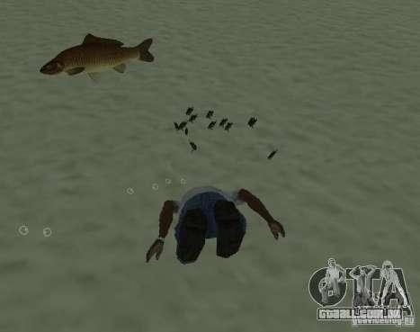 Novos peixes para GTA San Andreas segunda tela