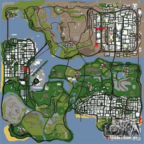 BUSmod para GTA San Andreas segunda tela