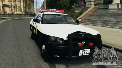 Dodge Charger Japanese Police [ELS] para GTA 4
