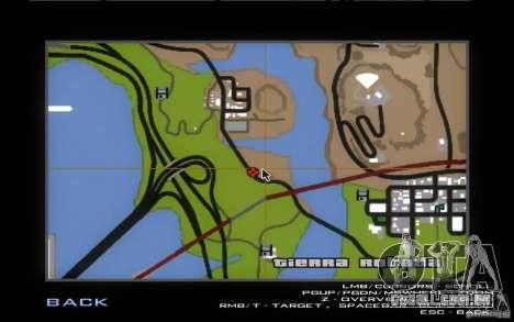 New Country Villa para GTA San Andreas décimo tela