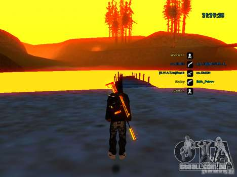 Pele pack para samp rp para GTA San Andreas sexta tela