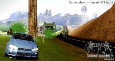UltraThingRcm v 1.0 para GTA San Andreas por diante tela
