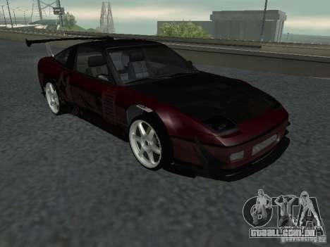 Nissan 240 SX para GTA San Andreas vista traseira