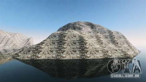 Paisagem montanhosa para GTA 4 terceira tela