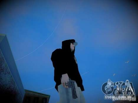 MOD de Valera para GTA San Andreas segunda tela