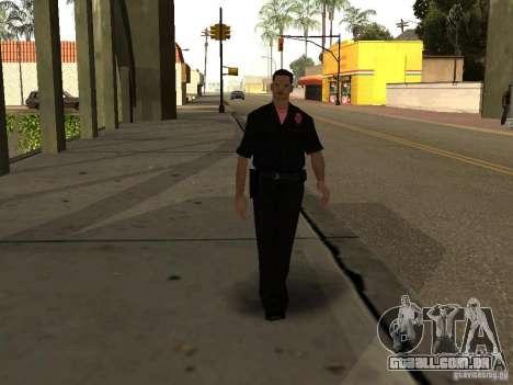 Cops skinpack para GTA San Andreas segunda tela